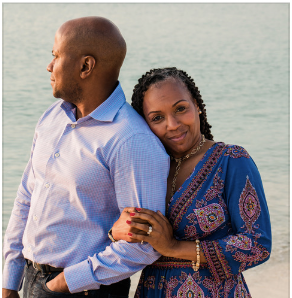 Franklin and Jeanelle Muhammad